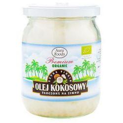 Olej kokosowy nierafinowany tłoczony na zimno Virgin BIO 450ml AURA HERBALS