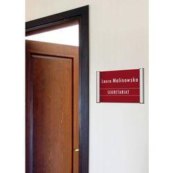 Tabliczka na drzwi TYP M 25mm - 21 x 29,7 cm - A4