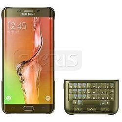 Etui SAMSUNG z klawiaturą QWERTY do Galaxy S6 Edge plus złote - EJ-CG925UFEGWW