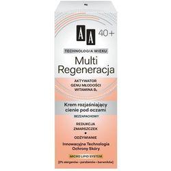 AA 15ml Technologia Wieku 40+ Multi Regeneracja Krem rozjaśniający cie