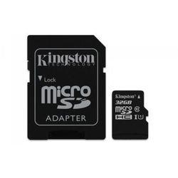 Kingston microSD 32GB Class 10 Gen2 1-adapter