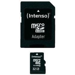 Karta pamięci microSDHC Intenso 3413480, 32 GB, Class 10, 20 MB/s / 12 MB/s
