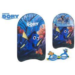 Deska i okulary do pływania Gdzie jest Dory?
