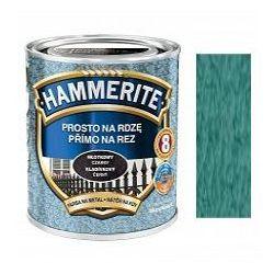 Farba Prosto Na Rdzę - Efekt Młotkowy Zielony 0,25L Hammerite