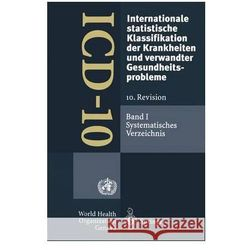 ICD 10 INTERNATIONALE STATISTISCHE KLA