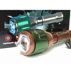 Latarka 1000W LED CREE akumulator 100LM 2x ładowarki