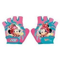 Rękawiczki na rower dziecięce Myszka Minnie