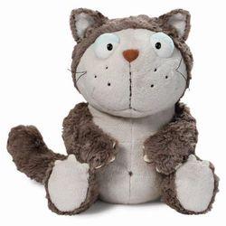 Nici, maskotka, kot, szary, 15 cm Darmowa dostawa do sklepów SMYK