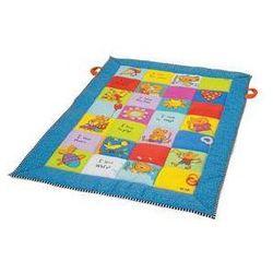 Mata edukacyjna dla dzieci Taf toys - kolorowe kwadraty