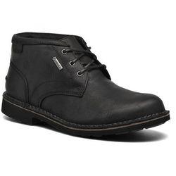 Buty sznurowane Clarks Lawes Mid GTX Męskie Czarne Dostawa 2 do 3 dni