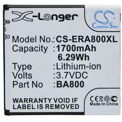 Sony Ericsson Xperia S / BA800 1700mAh 6.29Wh Li-Ion 3.7V (Cameron Sino)