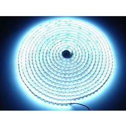 Taśma LED line 600 SMD 3528 biała zimna w powłoce silikonowej IP65 1 metr - biały zimny