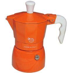 Kawiarka Top Moka Coccinella pomarańczowa - 1 filiżanka