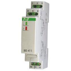 230V 16A Przekaźnik bistabilny impulsowy włącz-wyłącz na szynę BIS-411 F&F 4017