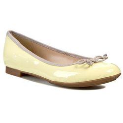Baleriny CLARKS - Carousel Ride 261069934 Pale Yellow Pat