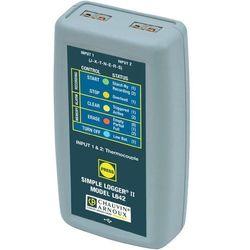 Rejestrator temperatury Chauvin Arnoux P01157050, Mierzone wielkości: Temperatura
