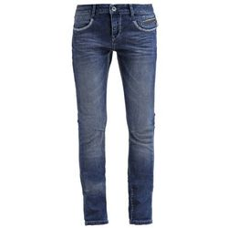 Mos Mosh BABA Jeansy Relaxed fit blue denim