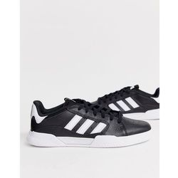 adidas Skateboarding Trainers VRX Low in black with white sole White