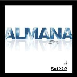 STIGA Almana - Okładzina - Czerwony
