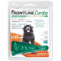 FRONTLINE COMBO Spot On Pipeta pies XL 40-60 kg
