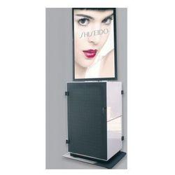 PeTa szafka medialna Konventionmobil SERVE dla wyswietlaczy w formacie poziomym 60 cali