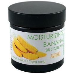 Avebio Moisturizing Banana Bio Cream - Nawilżający bio krem do twarzy z ekstraktem z banana 60ml