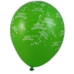 Kolorowy balon HAPPY BIRTHDAY rozmiar L