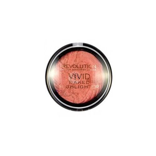 Makeup Revolution Vivid Baked Highlighter (W) rozświetlacz do twarzy Rose Gold Lights 7,5g