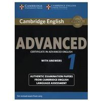 Camb English Advanced 1 for updated exam: Student's Book with answers egzamin 2015
