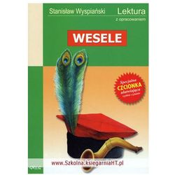 Stanisław Wyspiański. Wesele - lektury z omówieniem, liceum i technikum. (opr. miękka)