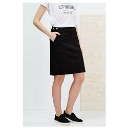 Spódnica ołówkowa czarna przed kolano