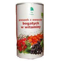 Ekologiczny, owocowy proszek witaminowy BIO 200g