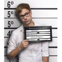 Tabliczka do Zdjęć - Aresztowany