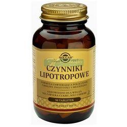 SOLGAR Czynniki Lipotropowe 50 tabletek