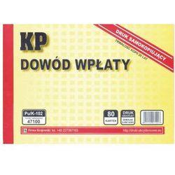 Dowód wpłaty KP [Pu/K-102]