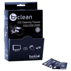 Chusteczki czyszczące Bolle B-Clean 100 szt (B100)