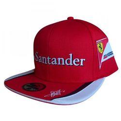 Czapka baseballowa Flat Sebastian Vettel Scuderia Ferrari F1 Team 2015