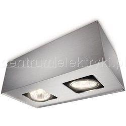 PHILIPS TEMPO LAMPA SUFITOWA ALUMINIUM 2X50W 230V GU10 żarówka/żarówki LED gratis!