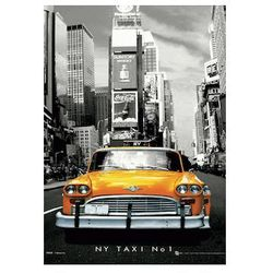 New York Taxi No 1 - reprodukcja z efektem 3D