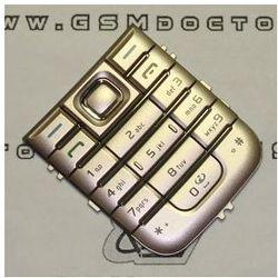 Klawiatura Nokia 6233 brązowa