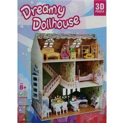 Puzzle 3D Dreamy Dollhouse Domek dla lalek