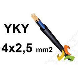KABEL YKY 4x2,5mm2 0,6/1kV PRZEWÓD ZIEMNY MIEDZIANY