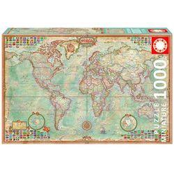 Puzzle Świat 1000 mapa polityczna
