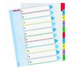 Przekładki kartonowe numeryczne ESSELTE A4 Mylar Maxi do wielokrotnego opisywania 1-31