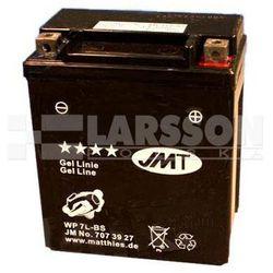 Akumulator żelowy JMT YTX7L-BS (WP7L-BS) 1100300 Suzuki VL 250, Honda SH 150