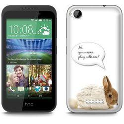 Fantastic Case - HTC Desire 320 - etui - królik