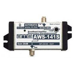 WZMACNIACZ ANTENOWY WEWNĘTRZNY AWS-141S
