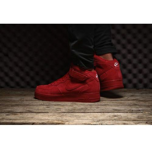 buty nike air force 1 mid 07 red