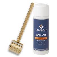 Environ - Ionzyme Gold Roll-CIT + Cleaning Solution - Gold Roll-CIT Luksusowy wałek kosmetyczny do mezoterapii domowej + Płyn dezynfekujący - 1 szt+ 1 Kupując ten produkt otrzymujesz darmową dostawę !