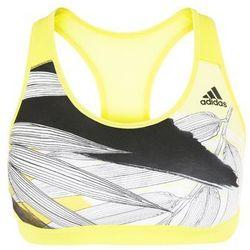 adidas Performance OLYMPIC Biustonosz sportowy shock yellow